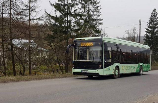 В Ужгороді планують закупити 10 нових електроавтобусів