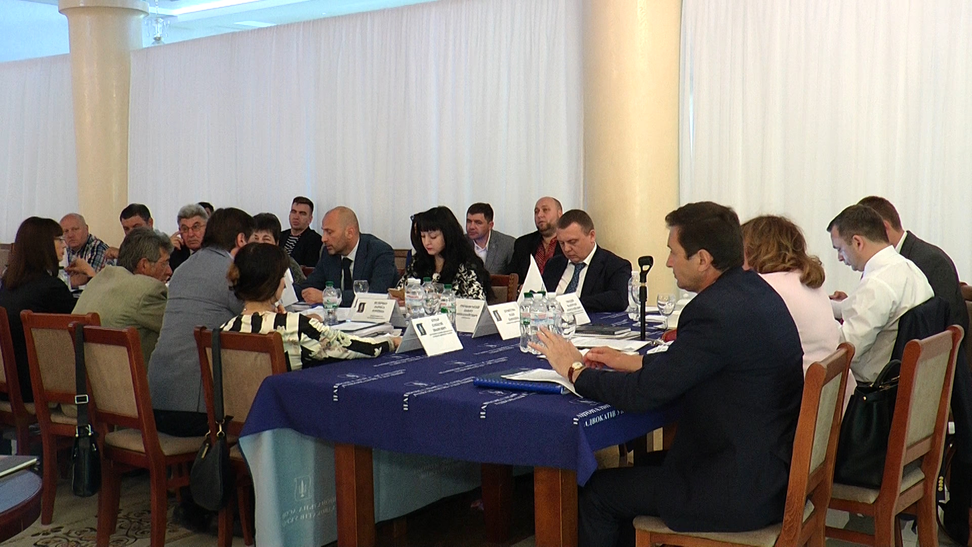 Засідання ради адвокатів України (ВІДЕО)