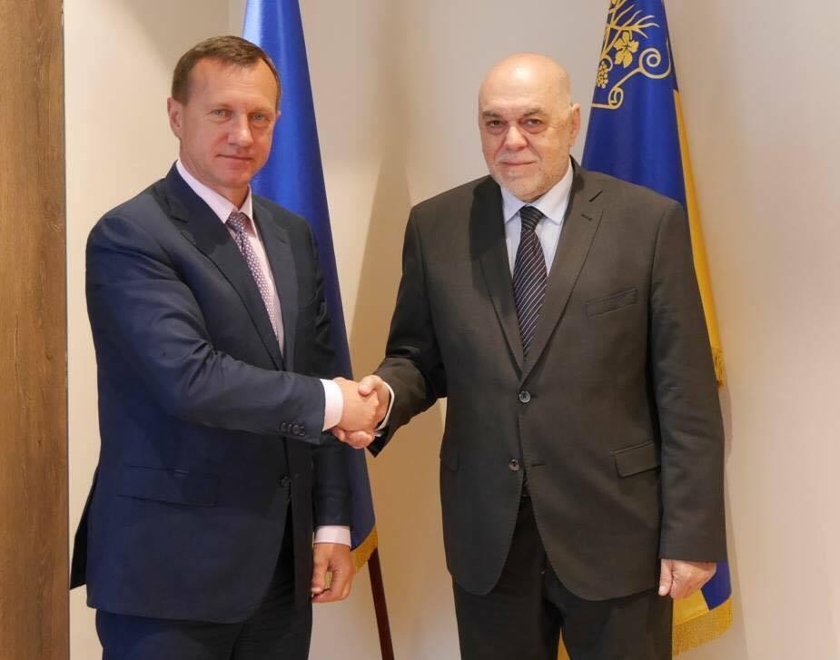 Ужгородський міський голова зустрівся з консулом Словаччини