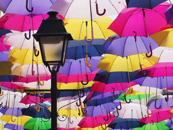 В Ужгороді з'явиться алея парасольок
