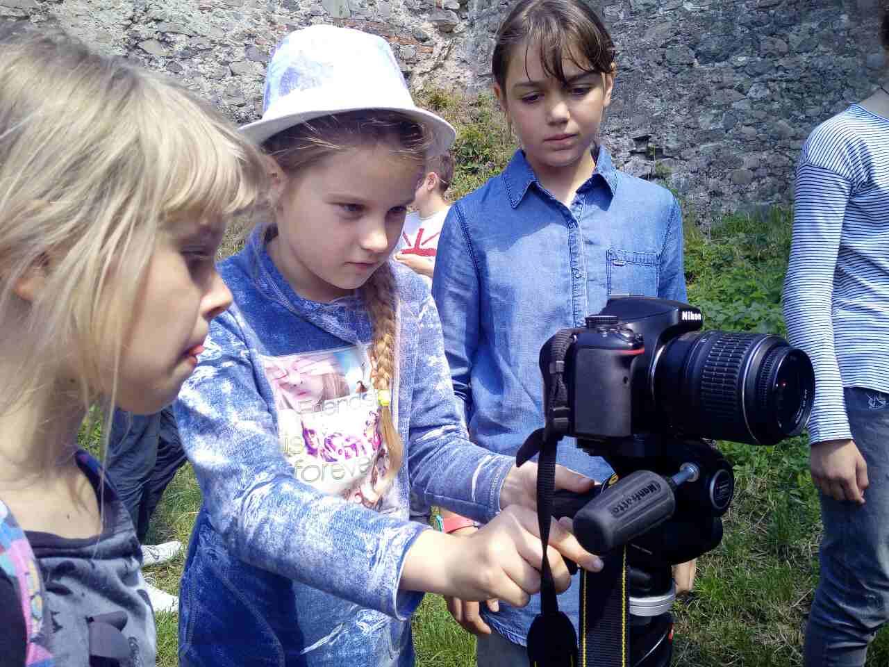 На Закарпатті триває дитячий кінотабір