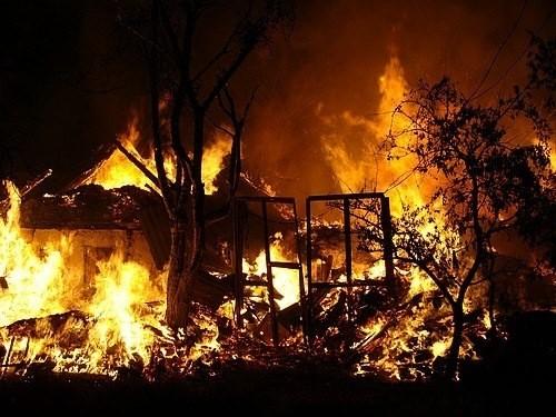 На Тячівщині за вихідні сталися дві пожежі