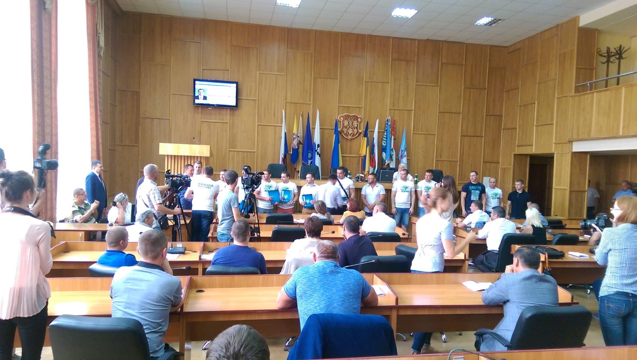 В Ужгороді завершилось засідання Ужгородської міської ради
