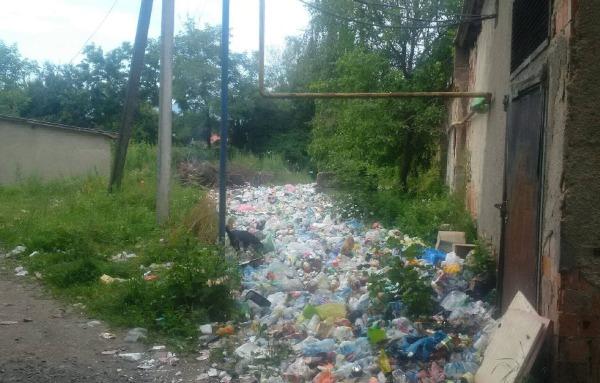 Чому в Буштині біля багатоповерхівок не вивозять сміття?