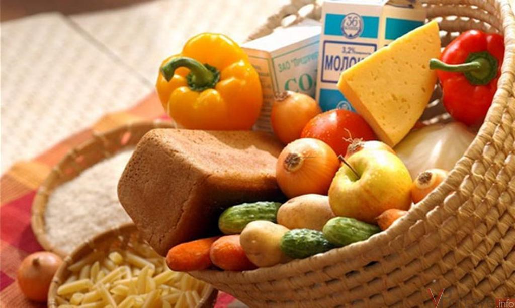 Середньостатистична родина на Закарпатті витрачає на продукти щомісяця 4428,04 гривні
