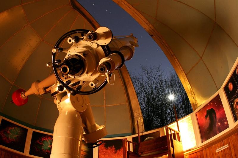 З Ужгородської обсерваторії видно небо аж до Флориди