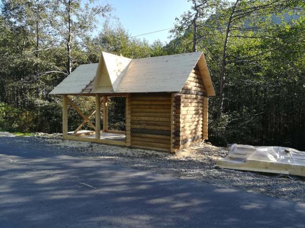 У Красній, що на Тячівщині, будується комфортна зона відпочинку