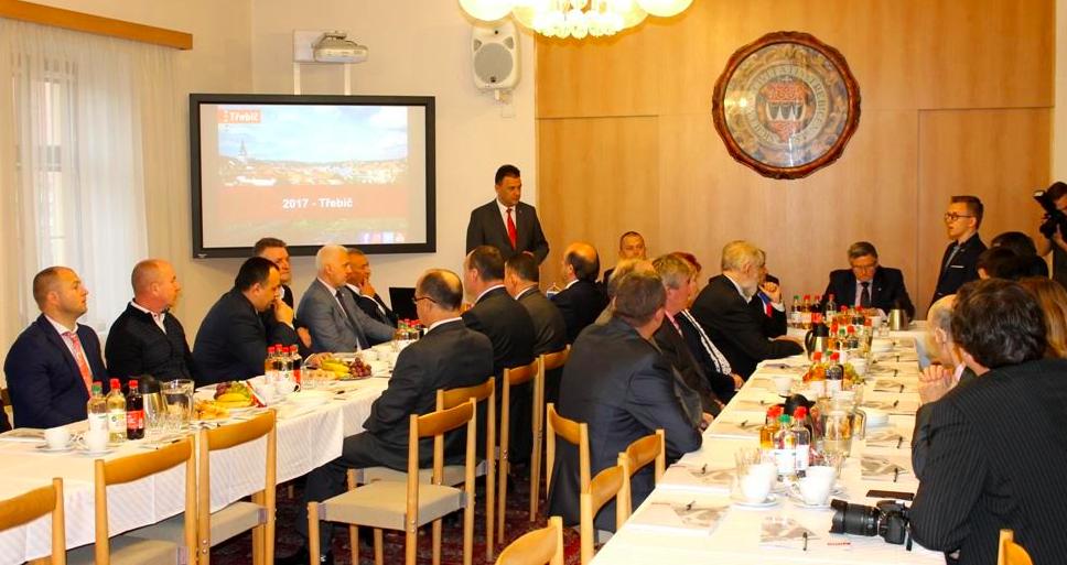 Закарпатський Рахів та чеський Тржебіч офіційно стали побратимами та партнерами