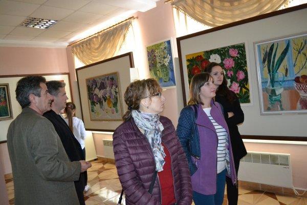 У Тячівській галереї ім.Ш.Голлоші відкрили виставку картин Раїси Глюк