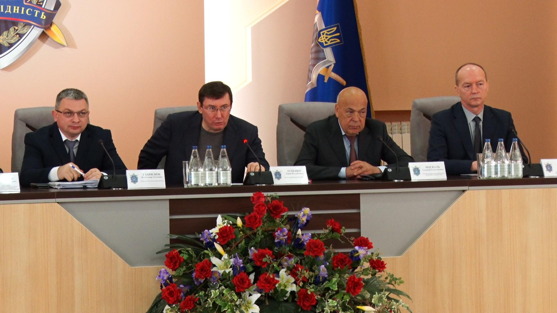 Візит генпрокурора Луценка до Ужгорода закінчився викриттям криміналу у Тячеві (ВІДЕО)