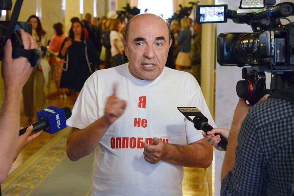 Рабинович закликав Вілкула та інших депутатів переходити з «Оппоблока»