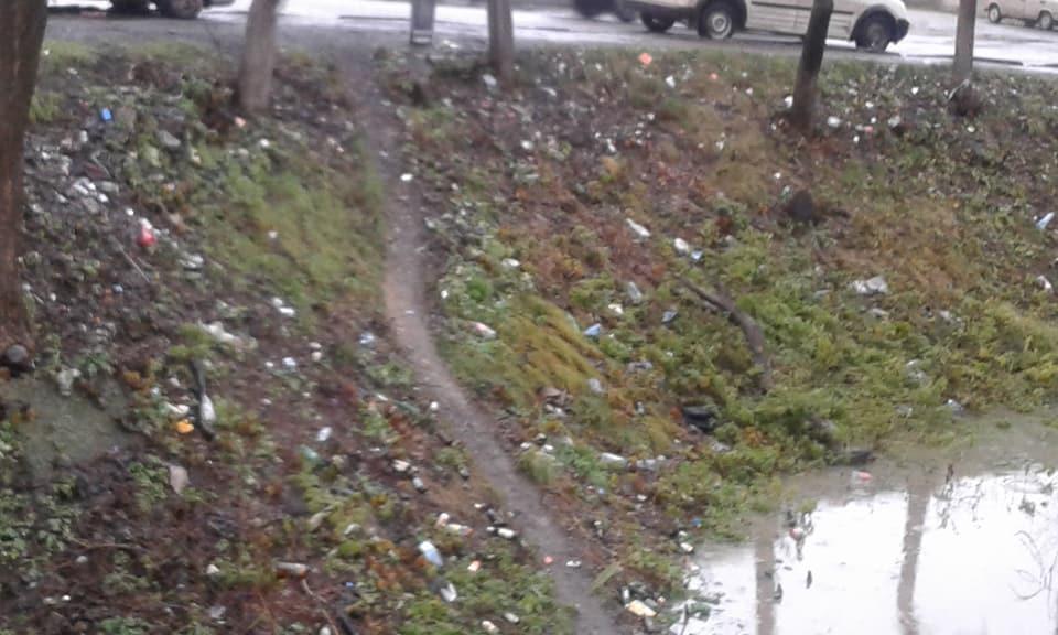 Іршава потопає і від дощів і від сміття (фотофакт)