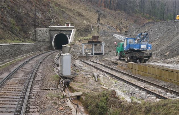 Найдовший тунель України знаходиться на Закарпатті