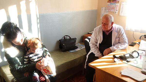 У Великих Ком'ятах відкрили пункт екстреної медичної допомоги (ВІДЕО)