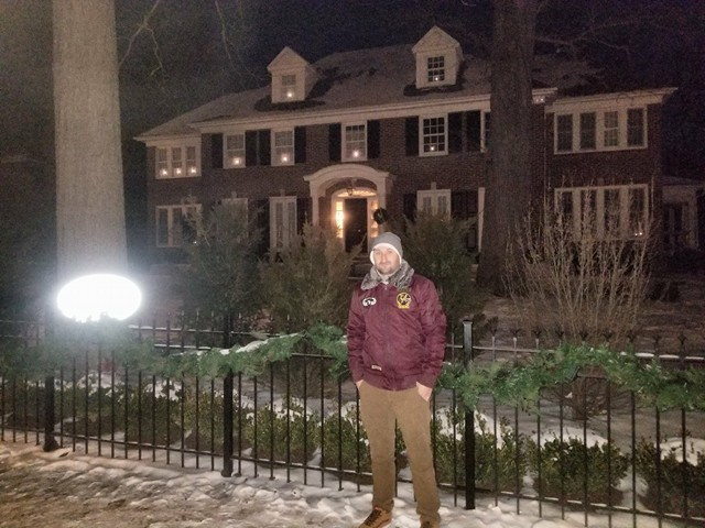Закарпатець показав, як зараз виглядає будинок з різдвяного фільму «Сам удома» (фото)