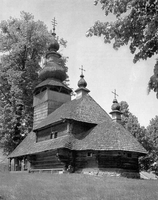 Церква Св. Миколая 1588, 1759 в Сваляві