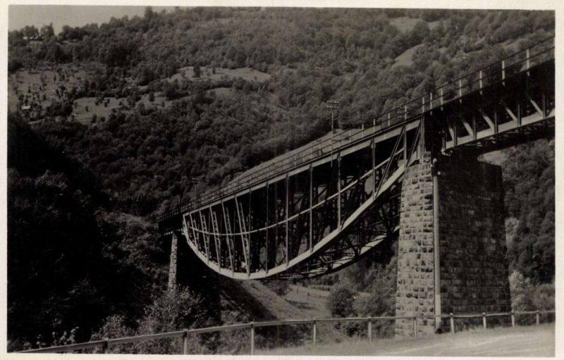 В мережі показали залізничний міст на Рахівщині,  побудований  італійськими спеціалістами у 1894 р.