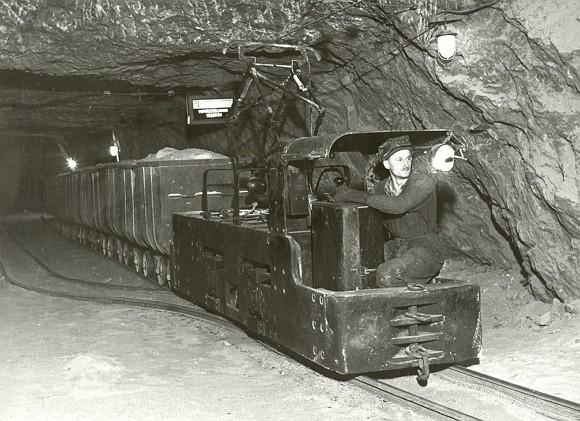 Соляна копальня в Солотвино 1955 рік (фото)