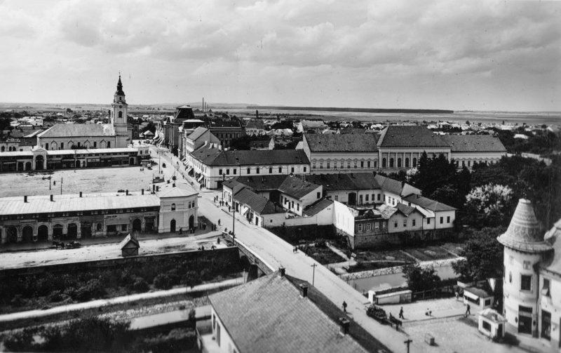 Унікальні кадри: Берегово 1939 року