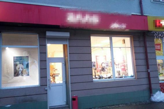 В Хусті обікрали магазин мобільних телефонів