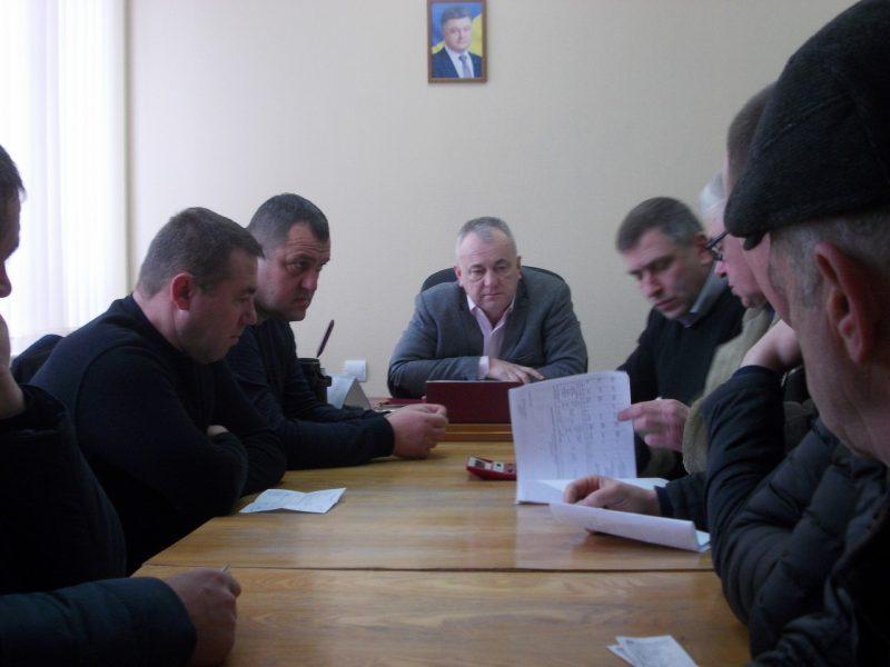 В Тячівському МУВГ відбулась зустріч з суб'єктами господарювання