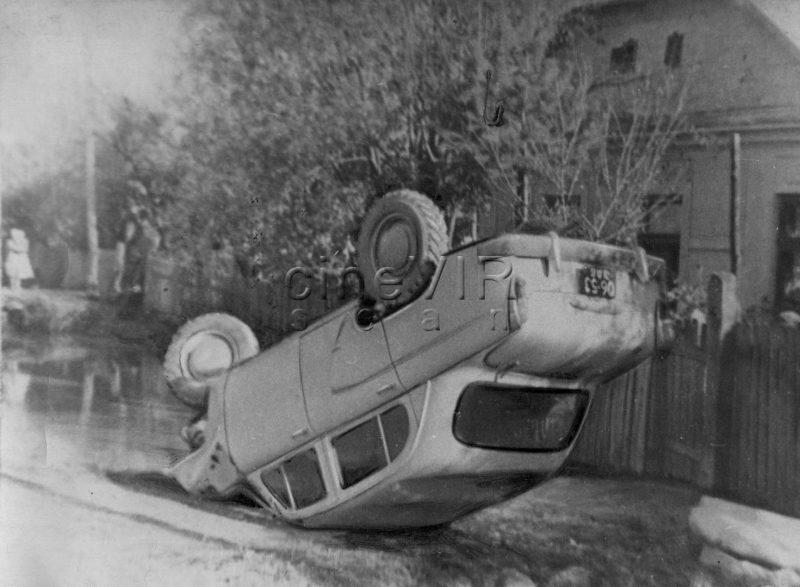 Фото з архіву: ДТП на закарпатських шляхах, 1965 рік