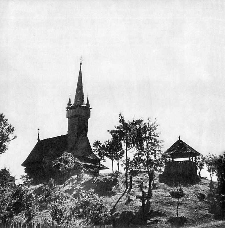 Дерев'яні церкви Закарпаття: Нижня Апша(Діброва), Тячівський р-н Церква Св.Миколая 1604, XVIII ст