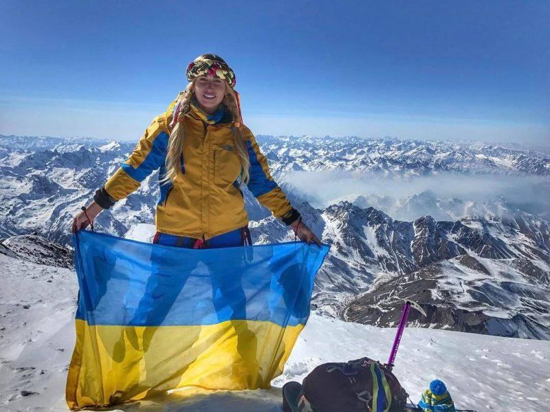 Закарпатська альпіністка Ірина Галай зібралася підкоряти чергову вершину