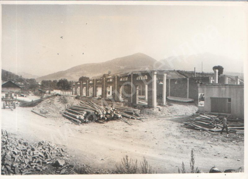 Фото з архіву: як на Міжгірщині відбувалося будiвництво цеха заводу «Селена»