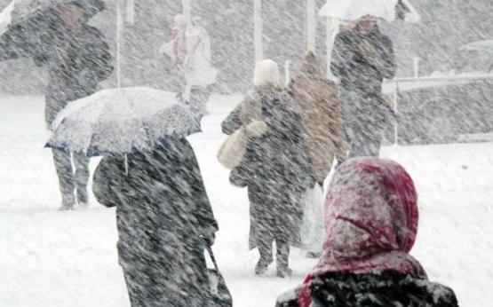 Дуже сильний снігопад накриє половину Закарпаття