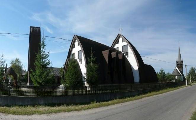 На Закарпатті є унікальна церква, що нагадує вігвам (ФОТО)