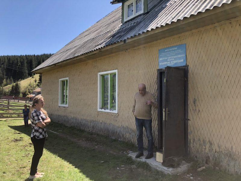 До високогірного села біля Синевирського озера побудують високоякісну дорогу (ФОТО)