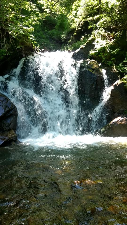 Водоспад Марії Терезії на Тячівщині зачаровує (фото)