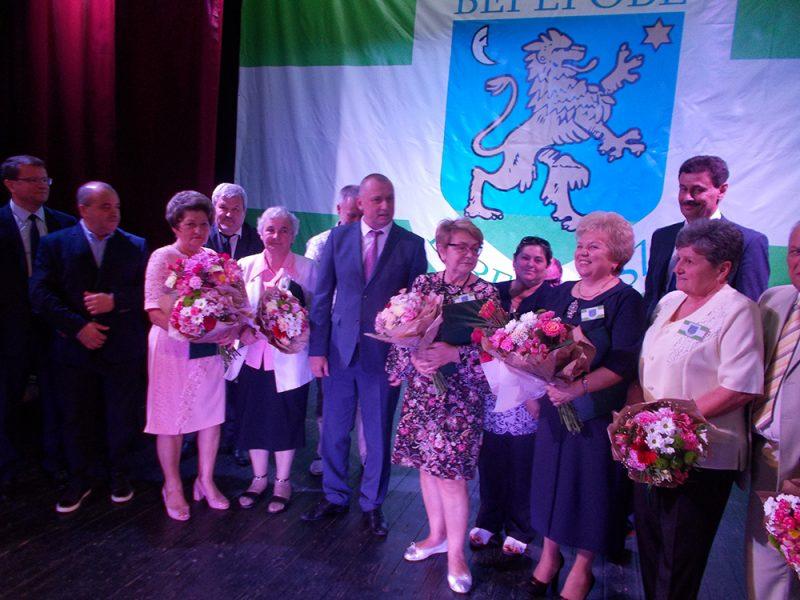 У Берегові вручили відзнаки «Почесний громадянин міста»