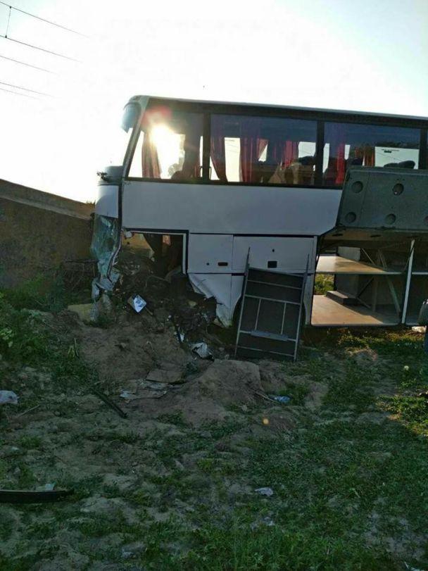 У Румунії розбився автобус з українськими туристами (фото)