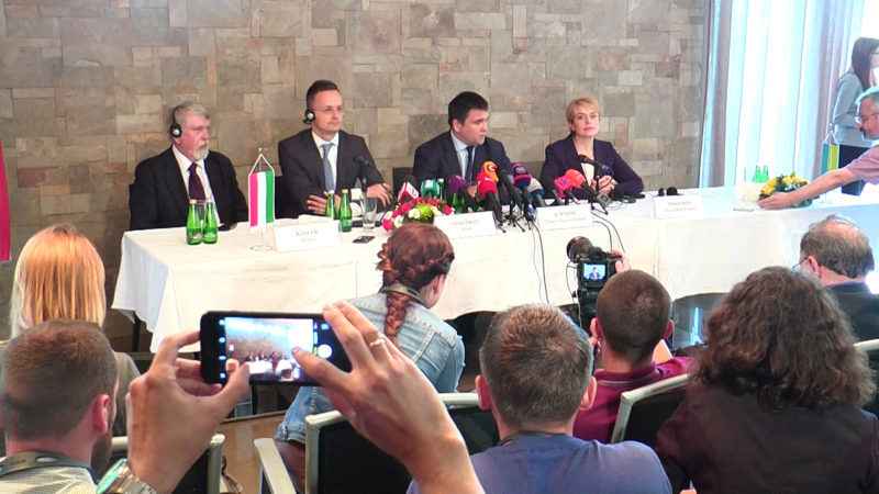 Клімкін розповів про результати українсько-угорських консультацій на Закарпатті