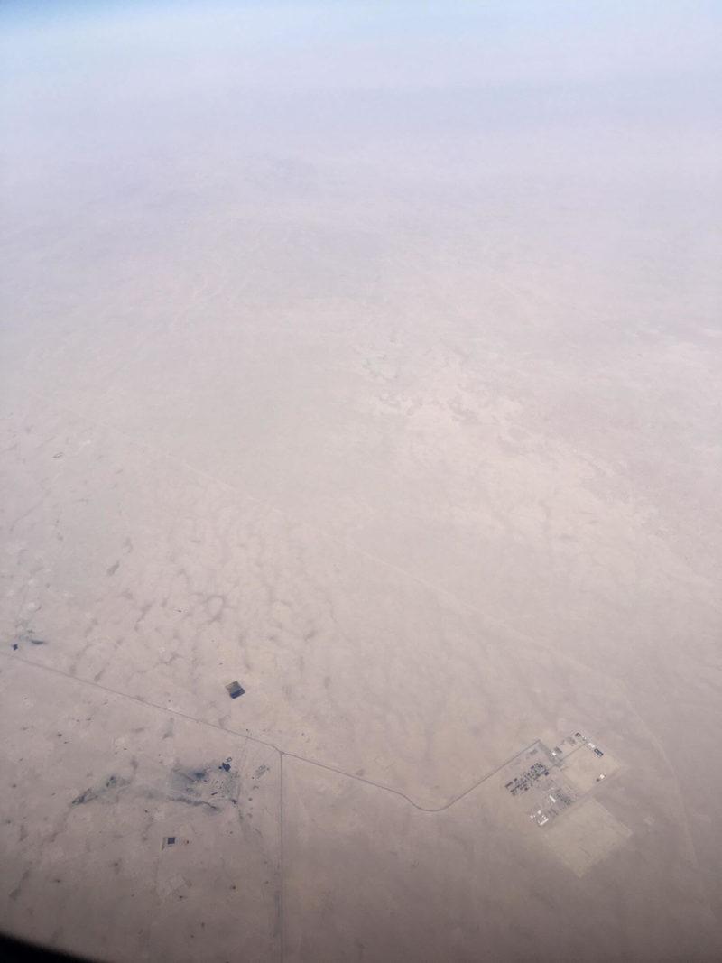 Закарпатець зняв з борту літака територію Іраку, яку не покажуть по телебаченню