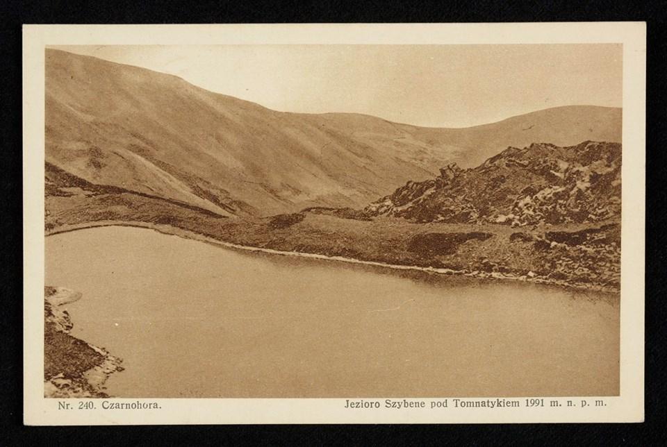 Закарпатська Чорна гора 1928 року без обсерваторії, лісу і жерепу (фото)