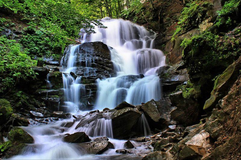 Труфанець - найвищий природний водоспад Закарпаття