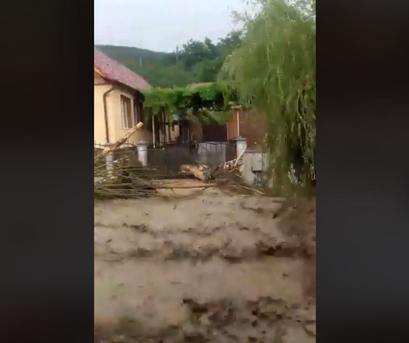 Селевий потік зійшов в Карпатах і зніс все на своєму шляху