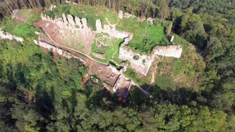 Таємниці історії хустського замку