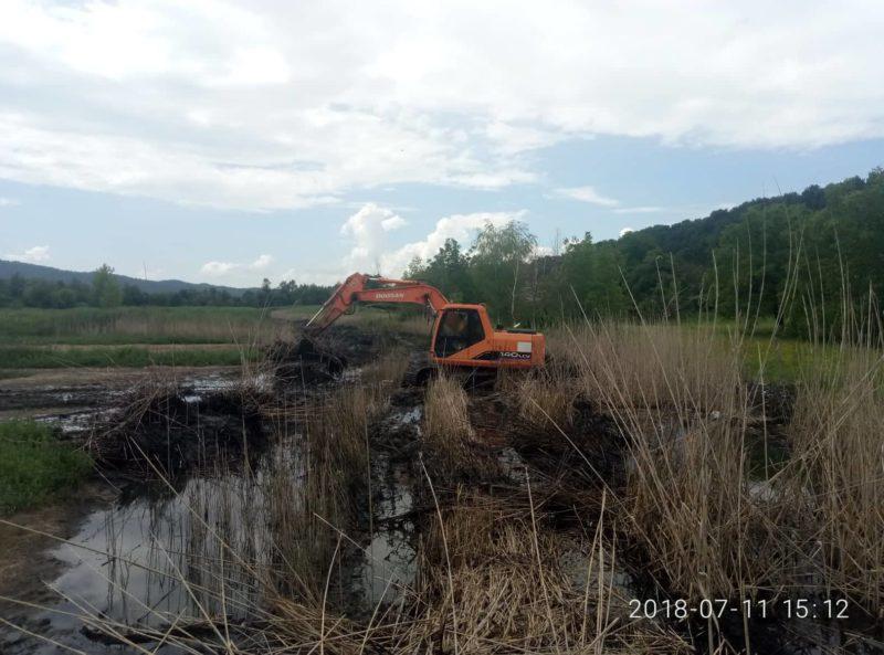 На Тячівщині розпочали роботи по захисту сільгоспугідь від підтоплення