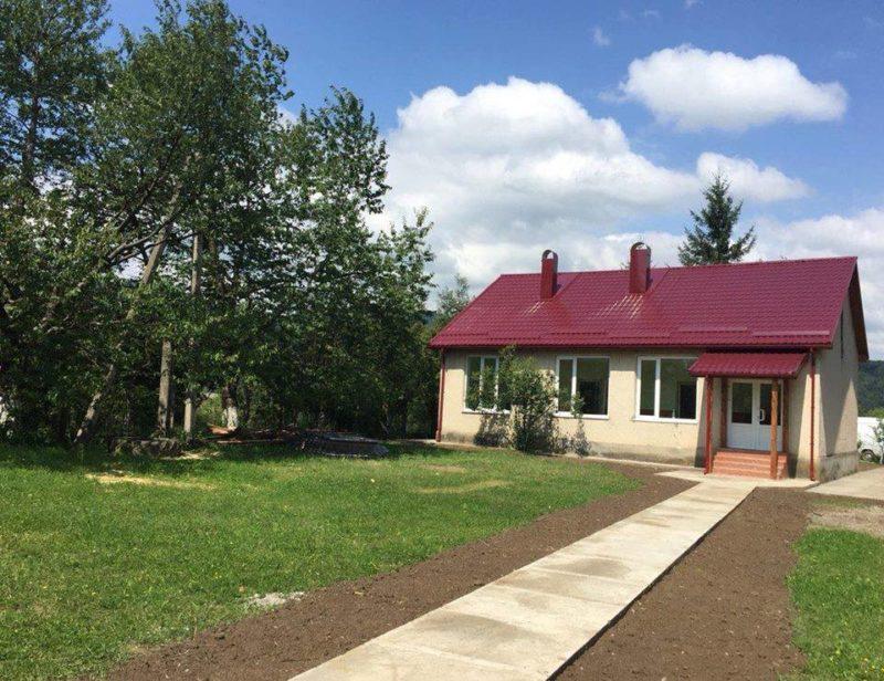 Школа у селі Модьоровш Хустського району набуває сучасного вигляду (ФОТО)
