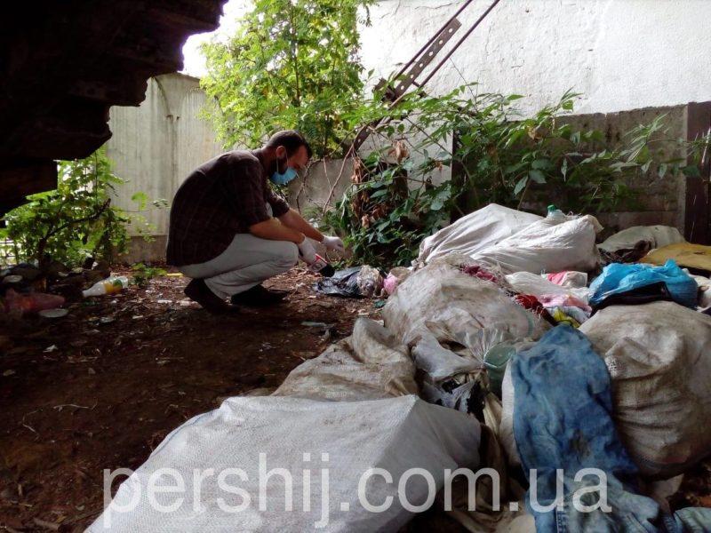 У Мукачеві з'явилось нове несанкціоноване сміттєзвалище (ФОТО)