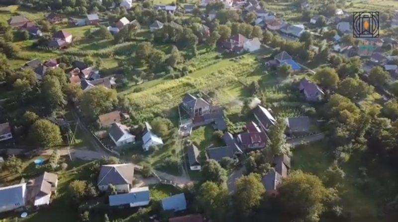 В мережі показали краєвиди Хустщини з висоти польоту птаха (ВІДЕО)