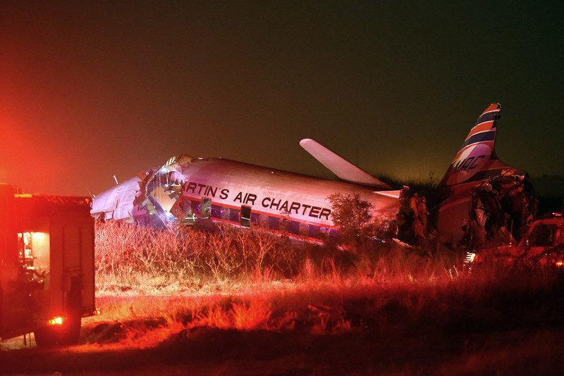 Пасажир літака зняв його падіння (ВІДЕО)