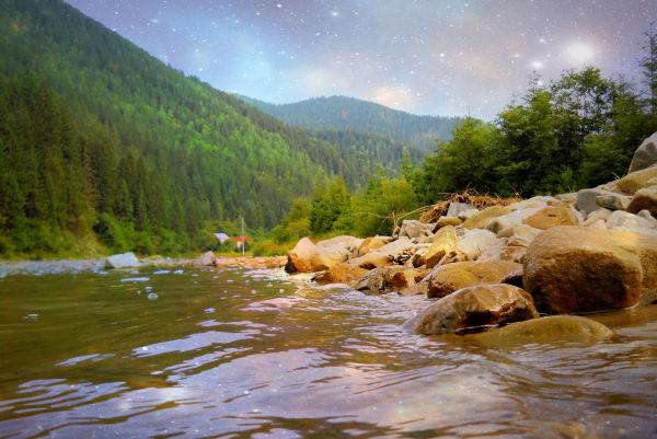 Рівень забруднення закарпатських річок можна перевірити онлайн