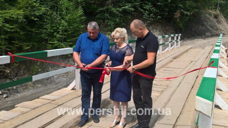 У Красній офіційно відкрили міст (ФОТО)