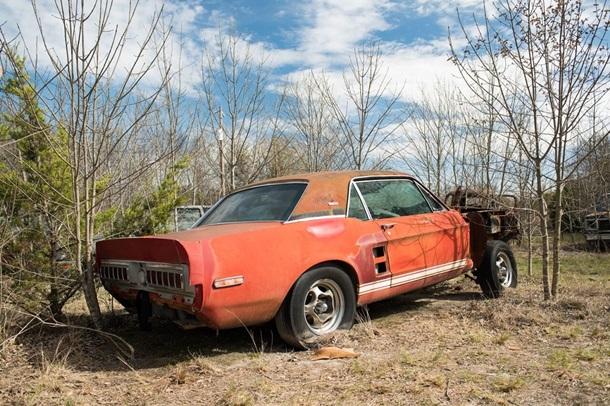 Знайдено унікальний Mustang, який зник 50 років тому