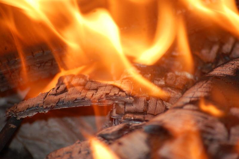 На Закарпатті горіла церква